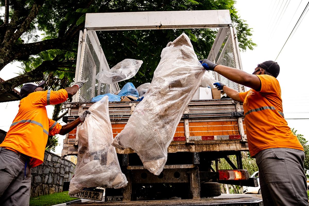 Coleta Seletiva aumenta recebimento de materiais em 90% durante a temporada de verão