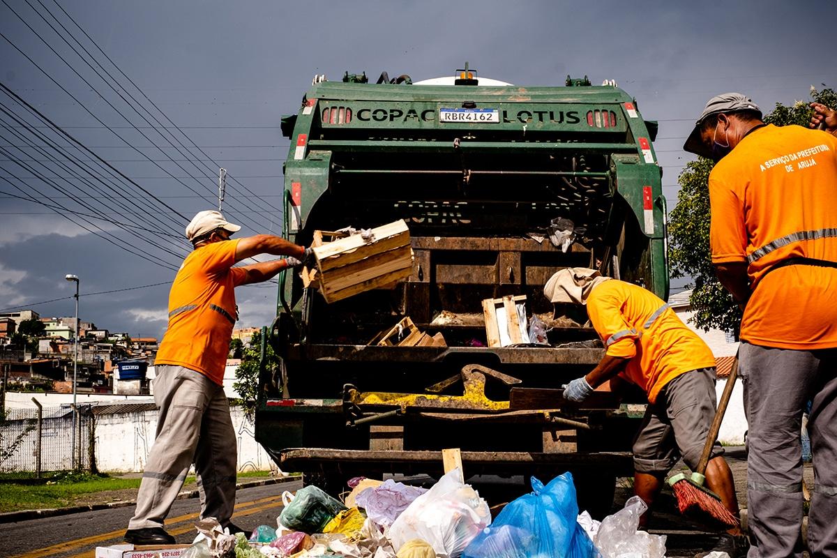 Nível de satisfação com limpeza pública aumentou em Arujá com a atuação do Grupo Electra