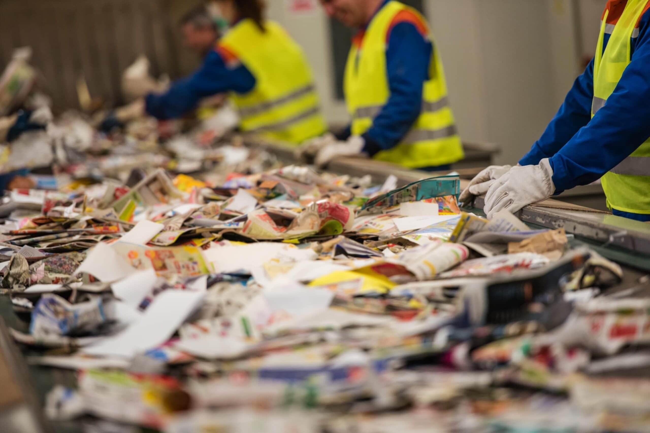 Destinação de resíduos e Gestão de Ecopontos